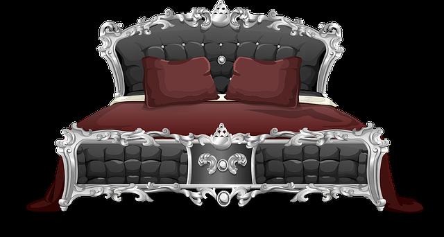 postel s čelem